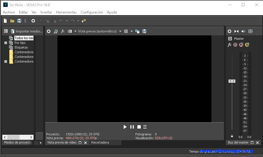 VEGAS Pro 16 Full Español 32 y 64 bit
