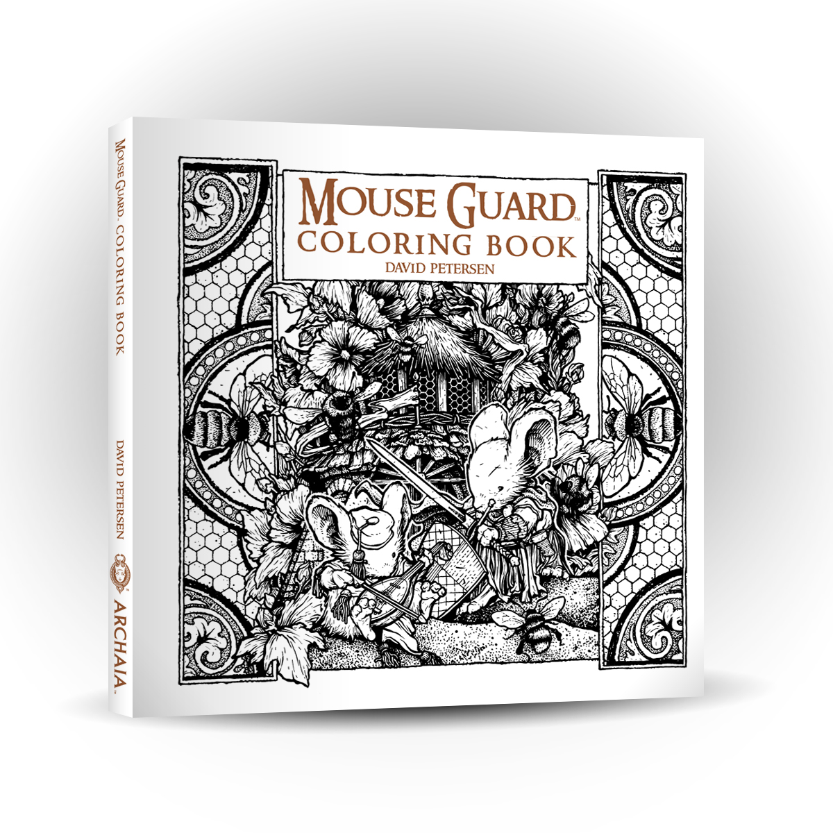 The coloring book project 2nd edition - Archaia I Have Decided To Publish A Mouse Guard Coloring Book Fans Have Asked For It And Now One Is On The Way