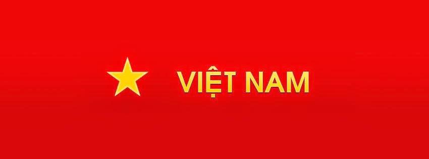 ảnh bìa facebook cờ đỏ sao vàng