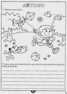 Exercicios de portugues artigos definidos e indefinidos