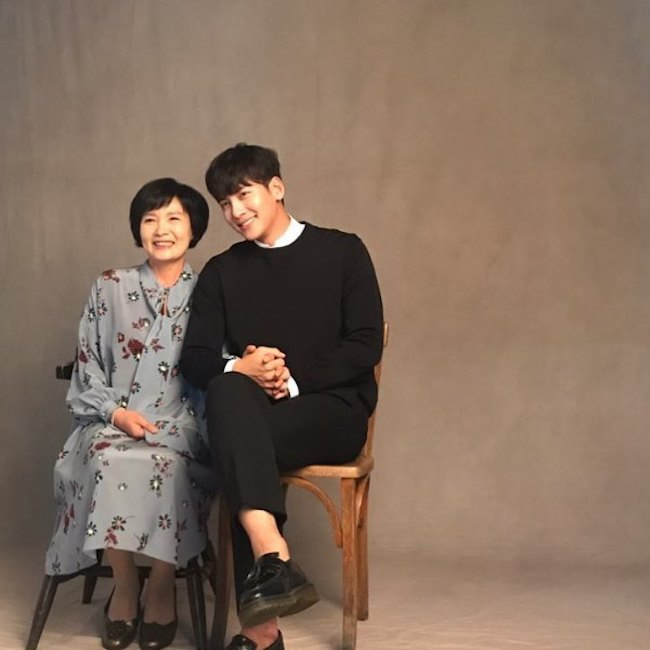 Ji Chang Wook Mom