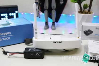 Unboxing Eachine Ev100 Versi 1.1 Fpv Goggle Murah Untuk Drone Racing