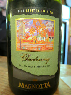 Magnotta Chardonnay Limited Edition 2014 (88 pts)