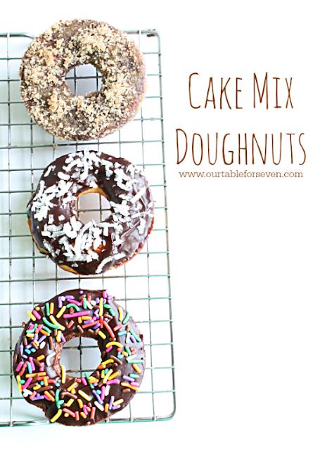 Cake Mix Doughnuts