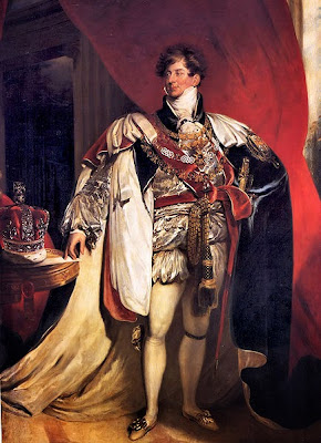 Coronation portrait of George III by Thomas Lawrence