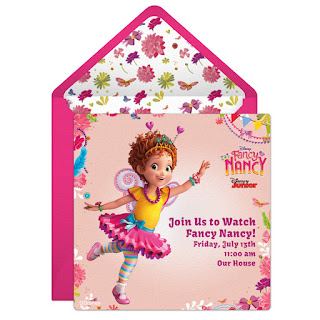 fancy nancy invitations