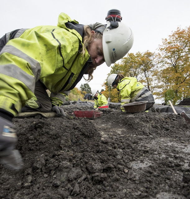 Historic finds unearthed at Medieval cemetery in Norway