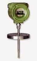 flange insertion flow meter