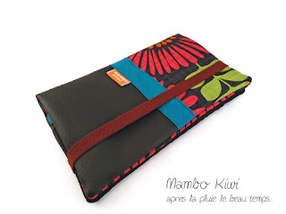 portefeuille original et coloré