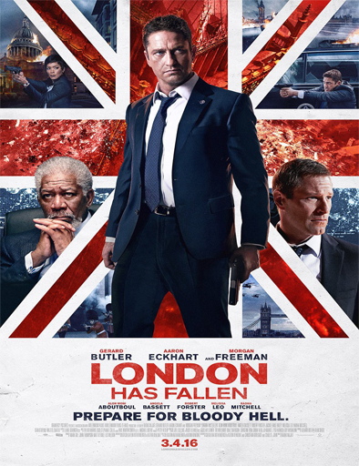 Ver Londres bajo fuego (London Has Fallen) (2016) Online