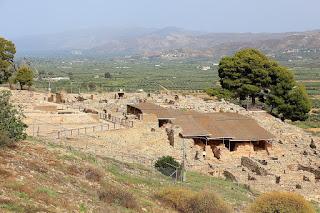 Faistos, archeologia