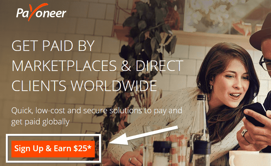 How To Sing Up For Payoneer Card and Get $25 Bonus