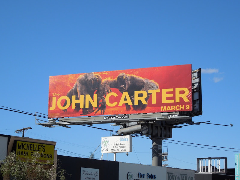 Disney John Carter billboard