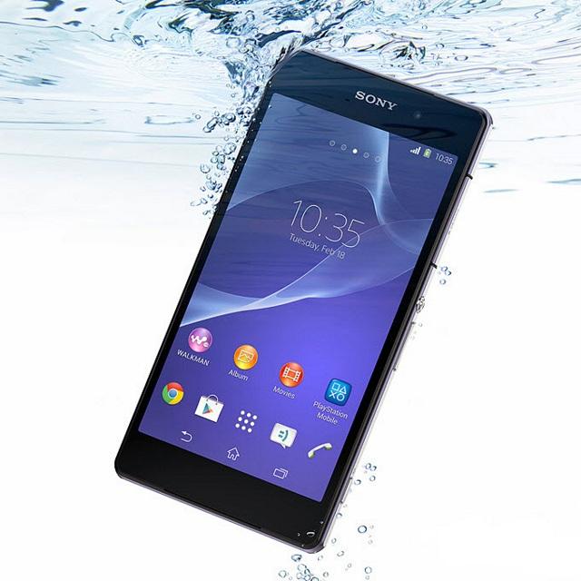 màn Sony Z2 bị lỗi