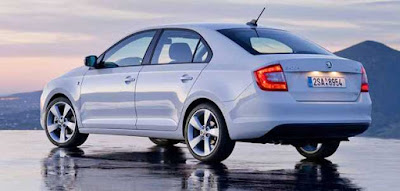 New Skoda Rapid Facelift HD Image Gallery