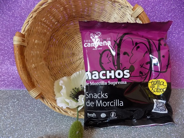 nachos de morcilla