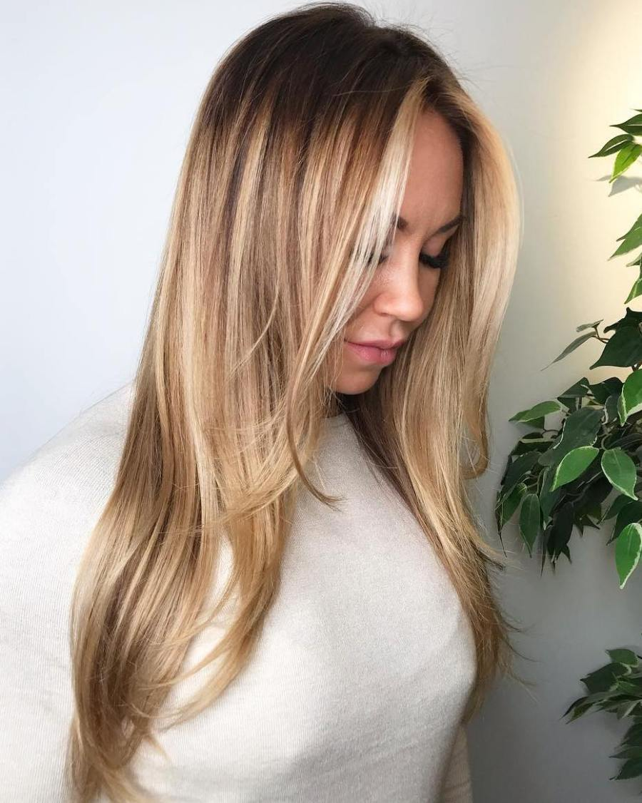 On Trending Honey Blonde Hair Colors 2019