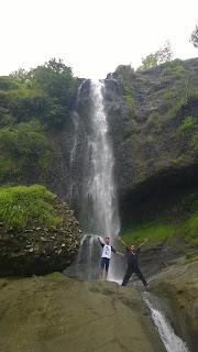 Banyu nibo air terjun wonogiri jawa tengah gunung kidul