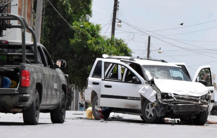Tiroteo y persecución entre sicarios y ejercito deja 5 ejecutados en Reynosa.