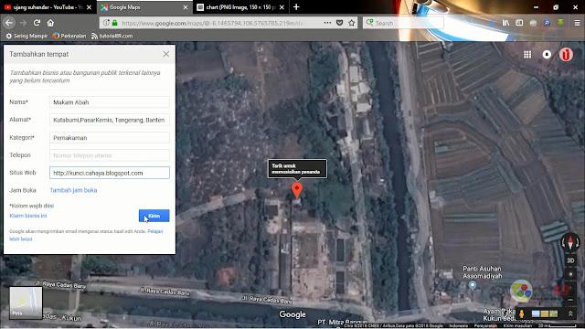 Cara mudah mendaftarkan alamat dan  membuat barcode lokasi google map + Video