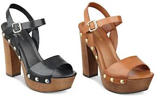 Indigo Rd. Kiana Wooden Platform Sandals $12 (reg $69)