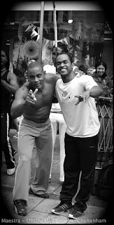 Mestrando Primo and Graduado Lua, Oficina da Capoeira