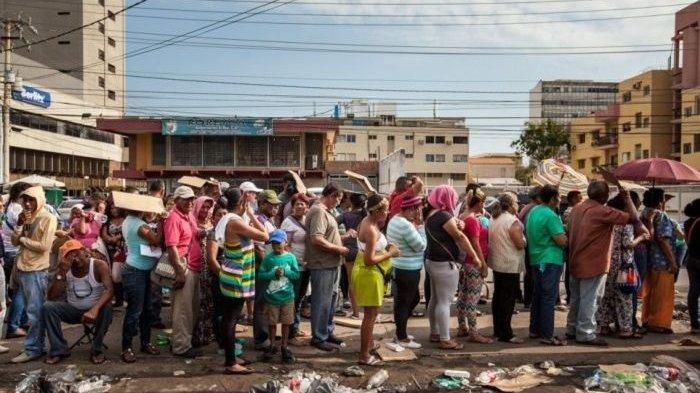 Krisis Venezuela, Harga Daging Ayam /Ekor Mencapai 14,6 Juta