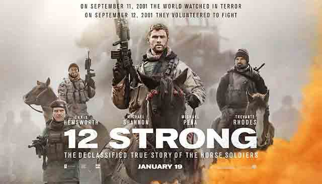 Sinopsis Film 12 Strong 2018