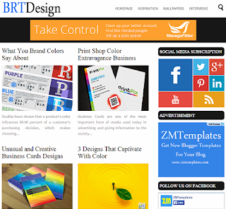 BRTDesign Blogger Template