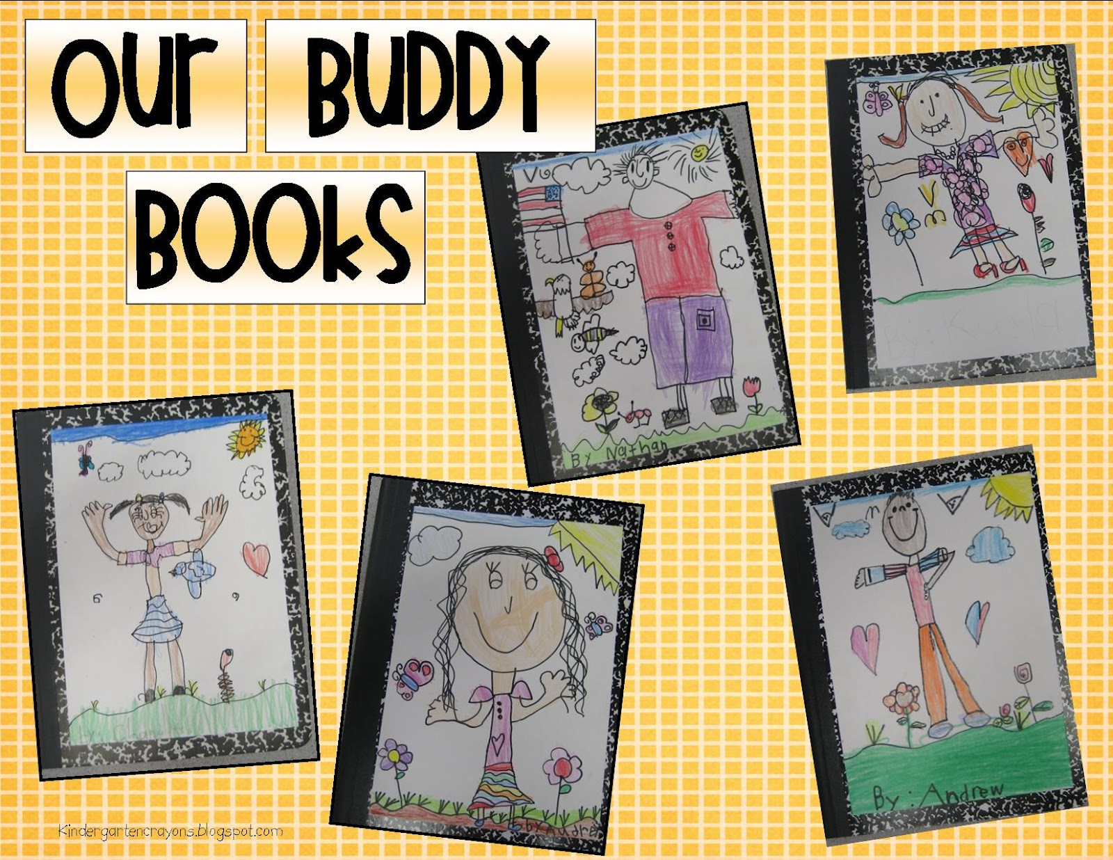 Kindergarten Crayons Beautiful Buddy Books
