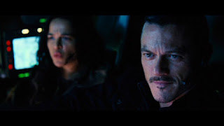 Michelle Rodriguez and Luke Evans