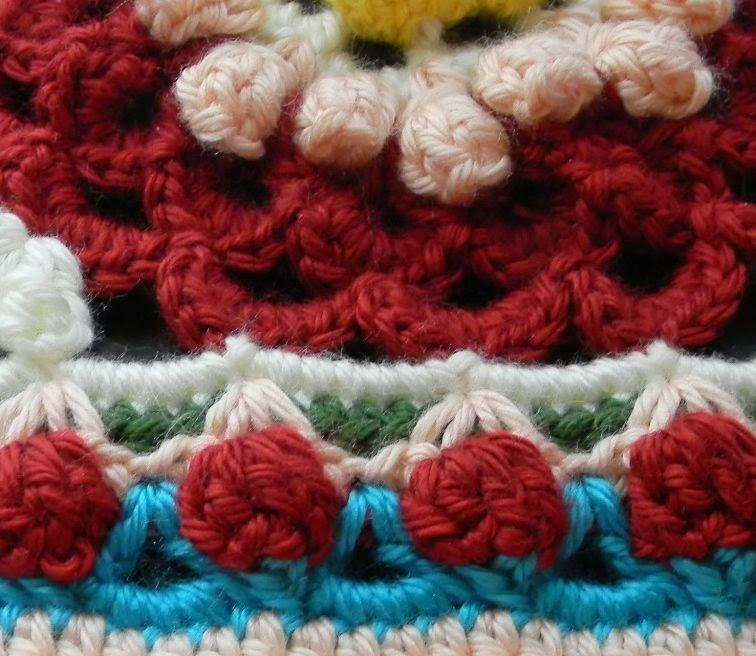 Free Crochet Pattern - Eve's Coverlet Granny Square