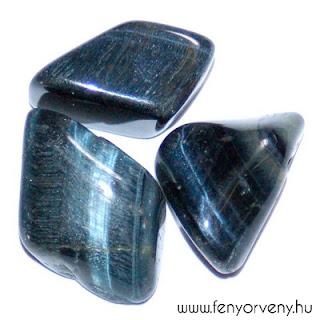 Kristálygyógyászat/Gyógyító kövek: Sólyomszem