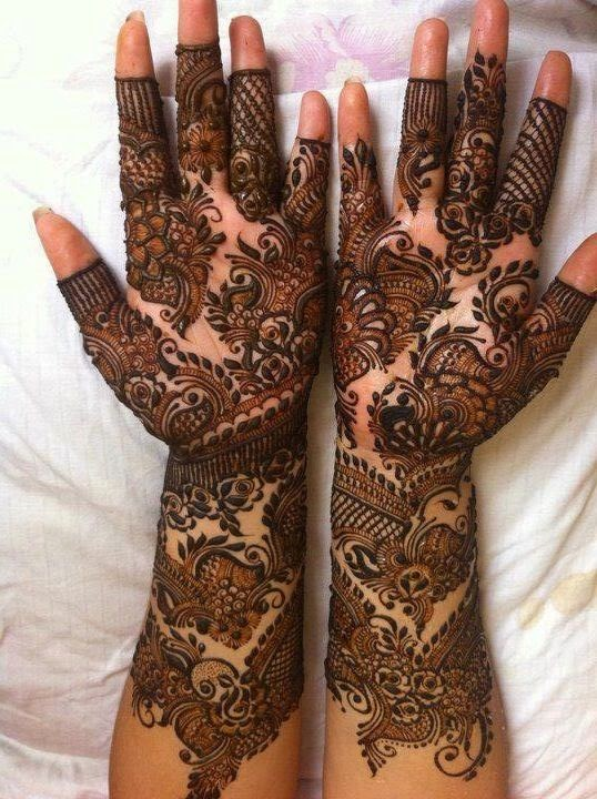 mehndi designs henna hands eid mehendi bridal mehandi hand latest elegant simple arabic wedding adha ul artist very vol ke
