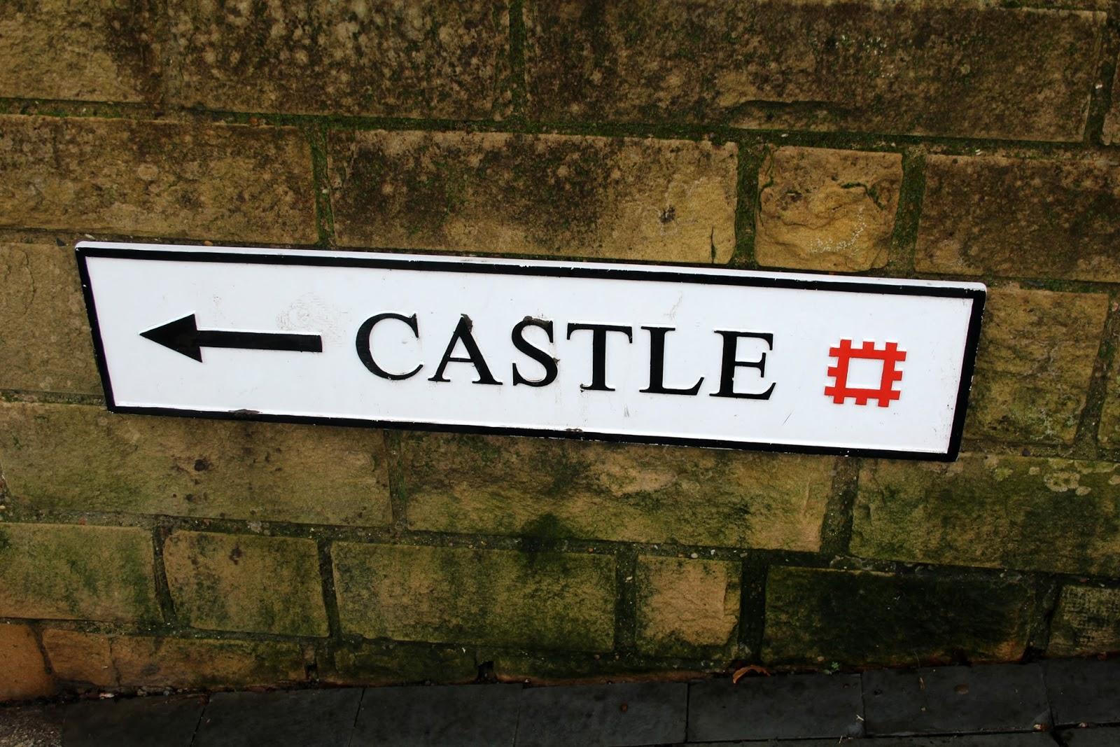 Barnard Castle Signpost