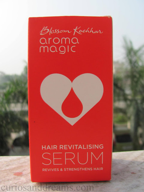 Aroma Magic Hair Revitalising Serum review