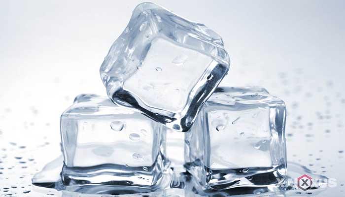 Cara menyembuhkan dan mengobati sariawan dengan es batu