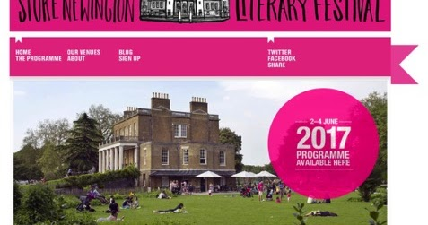 Book events this summer - and Stoke Newington LitFest this weekend!!