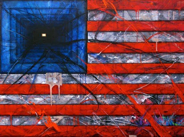 american flag graffiti - photo #3