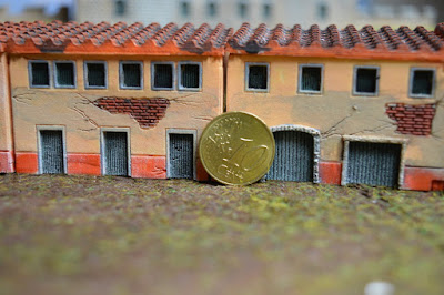 Set of 4 Roman Houses 1:144 (10-12mm) (Code: nj-144_rom2) 6