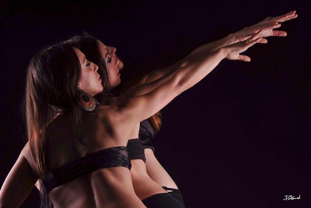 Sesión de fotos Juan Patanel a Mónica Tello y su Ballet