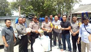 Team gabungan Polsek Pasir Sakti dan Polres Lamtim gagalkan penyeludupan 60 kg sabu