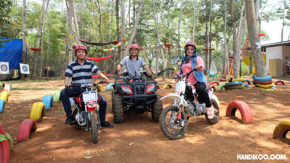 Menguji Adrenalin di D'Pongs, Desa Wisata Baru di Semarang