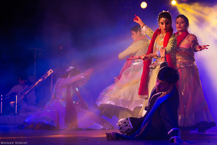 Jaipur Kathak Samaroh as the part of the Rajasthan Festival 2017.