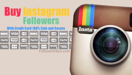 Buy Instagram Followers Credit Card