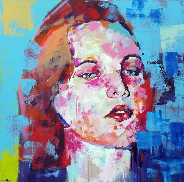Американский художник. Jonathan McAfee