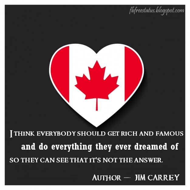 Quotes from Famous Canadian