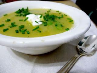 Sopa de Papas a la Francesa