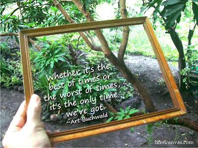 framed pictures quote