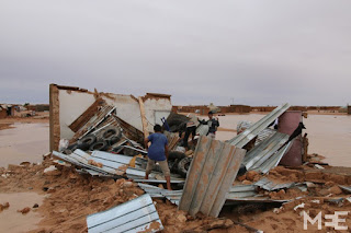 Heavy rains wash away homes and hope for Western Sahara refugees